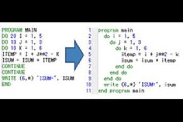 Intel® Fortran Compiler示例:程序间优化