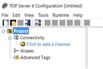 TOP Server教程:配置频道