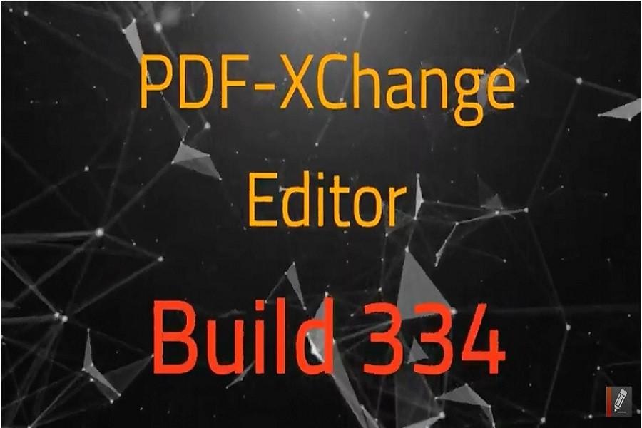 PDF-XChange Editor v8.0334.0新增功能演示