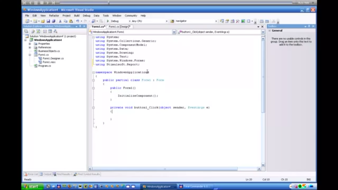 Stimulsoft报表工具:使用业务对象创建报表