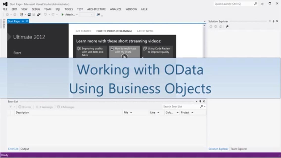 Stimulsoft报表工具:使用业务对象处理OData