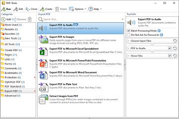 PDF操作控件PDF-Tools已更新至v8.0.334.0,新增查找并编辑工具/操作等功能