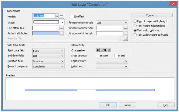 VARCHART XGantt用户手册:如何设置和编辑映射