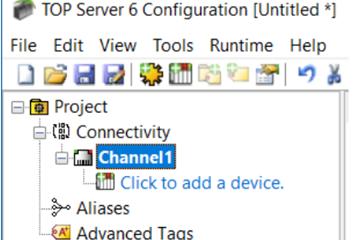 TOP Server教程:配置设备