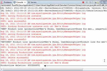 MyEclipse数据库教程:使用Java项目查看JPA工作方式