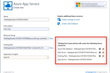 Visual Studio 2019教程:将ASP.NET Core应用程序部署到Azure