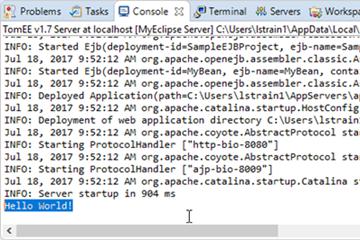 使用MyEclipse开发Java EE应用:开发EJB 3 Stateless Session Bean(二)