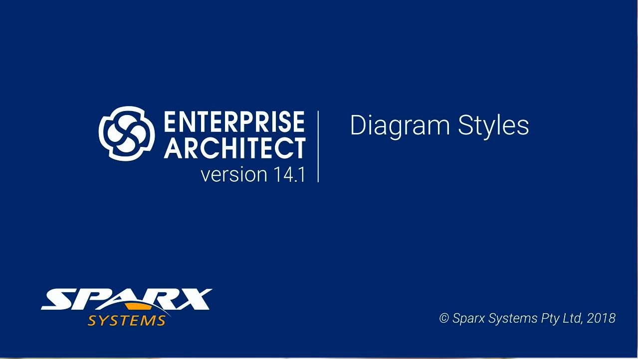 Enterprise Architect视频教程:图表样式