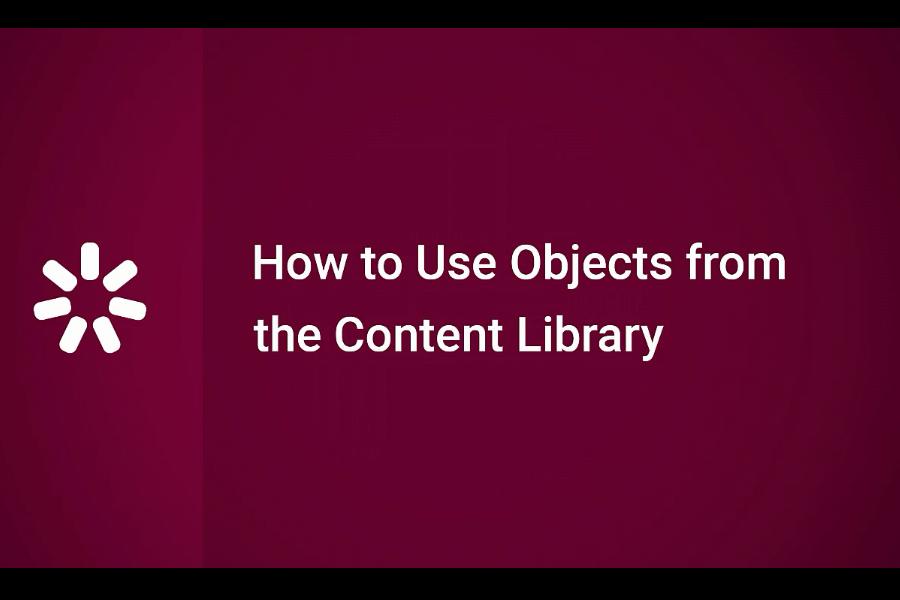 iSpring Suite 视频教程:如何使用内容库中的对象