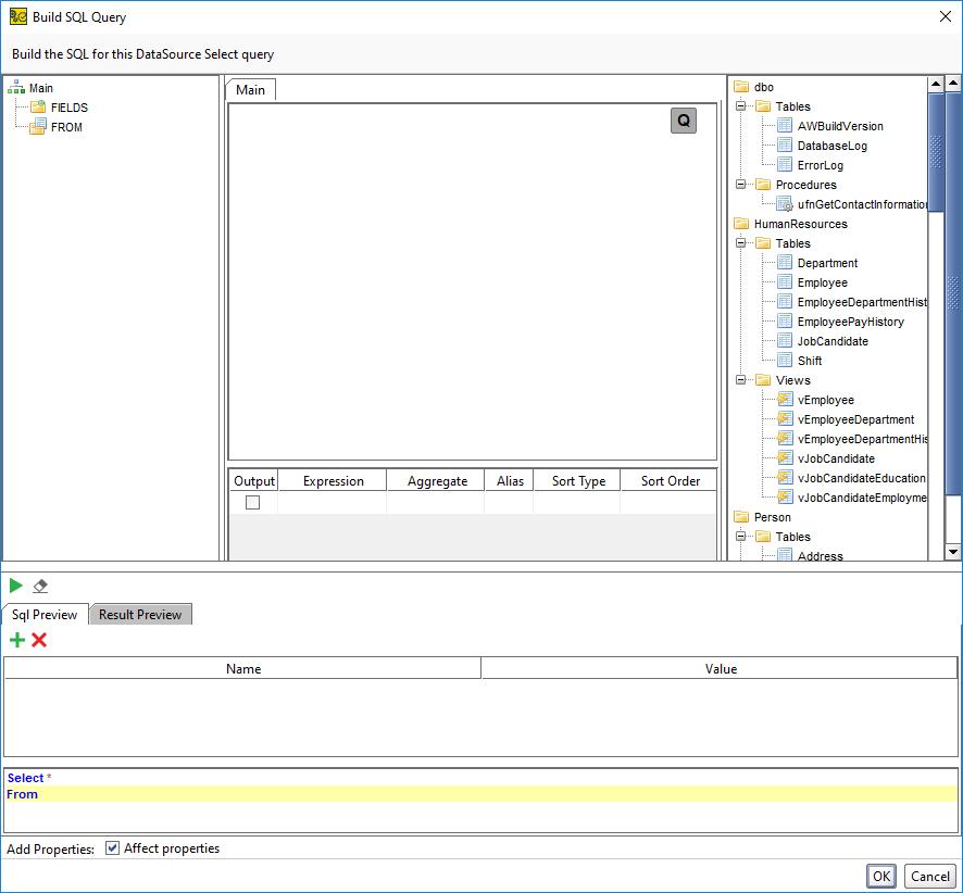 SoapUI Pro教程:Microsoft SQL数据库作为数据源(九)使用查询向导