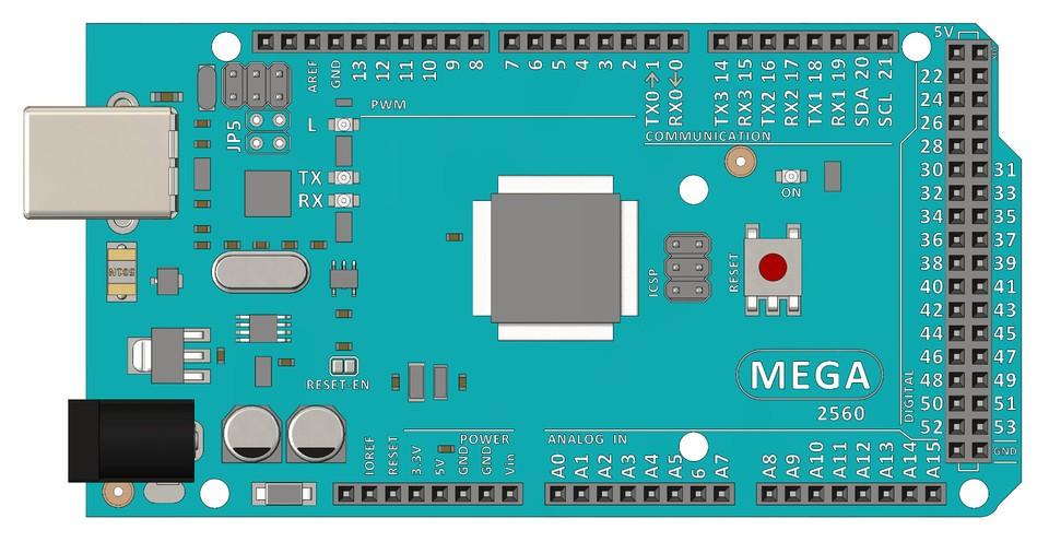 用电子零件的SolidWorks CAD模型在装配体中测试装配和渲染