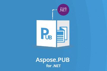 还在为pub文件转PDF发愁?专业解决.pub转换PDF控件Aspose.PUB重磅上线!