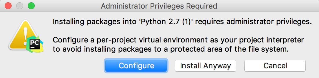 在PyCharm中配置项目(四):配置系统解释器