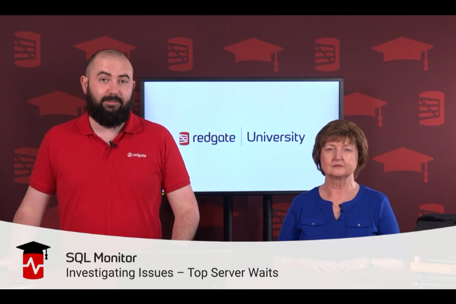 SQL Monitor入门视频:顶级服务器等待