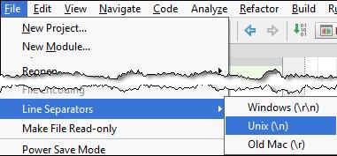 IntelliJ IDEA IDE设置系列教程(五):配置行分隔符
