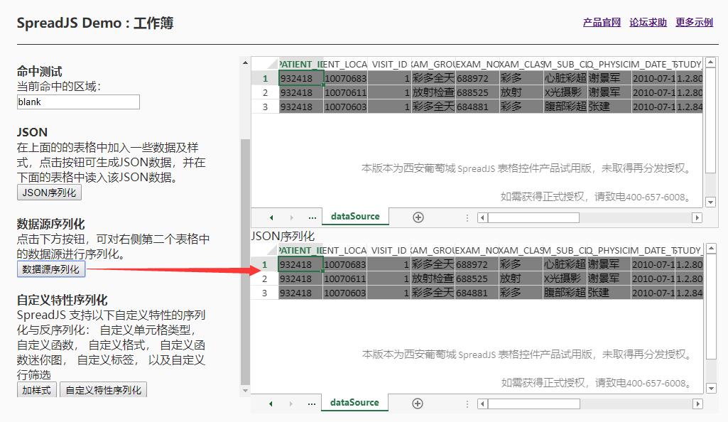SpreadJS新人入门学习(三):认识工作簿(下)