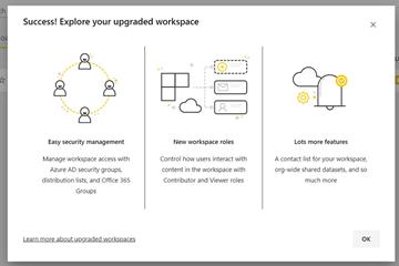 在Power BI中将经典工作区升级到新工作区的操作方法