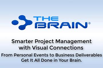 思维导图软件Thebrain网络研讨会——更智能的项目管理与视觉联系