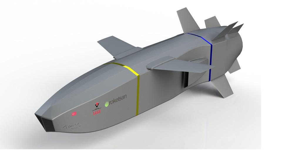 SolidWorks模型:防空导弹(SOM-J)