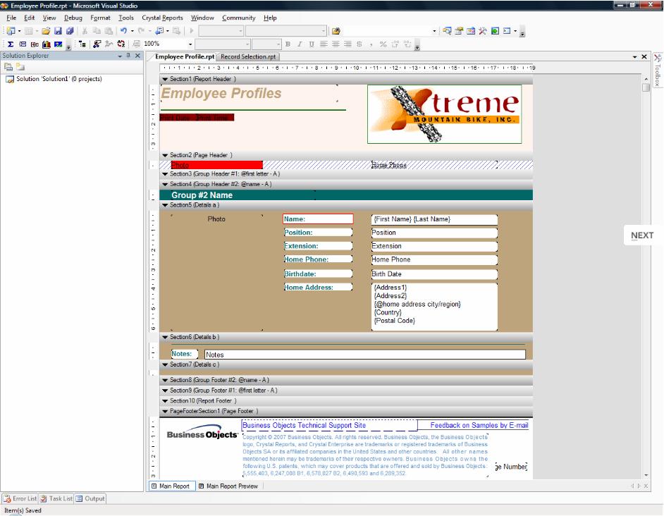 水晶报表Crystal Reports模板如何转换成FastReport.NET模板?报表对象一览表