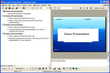 PPT处理控件Aspose.Slides双语言版本同步更新!改进处理Presentation中嵌入式OLE对象