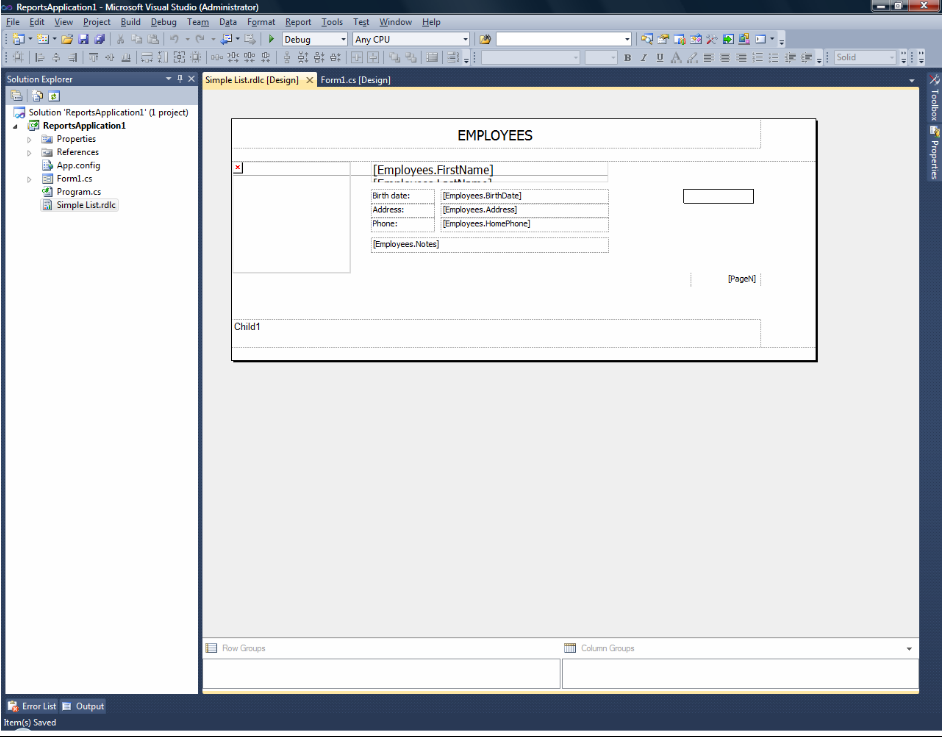 FastReport.Net报表工具 vs RDL标准报表定义语言