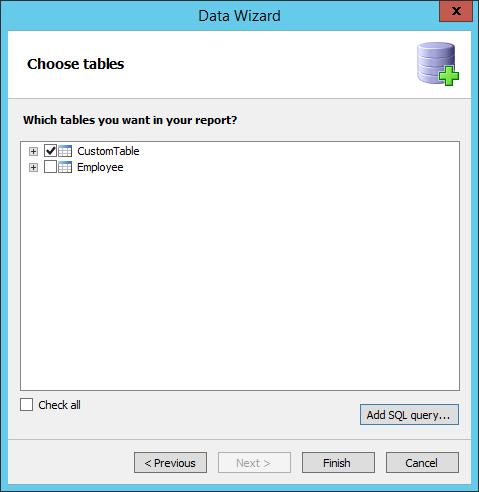 FastReport.Net报表设计器如何连接到SQLCe