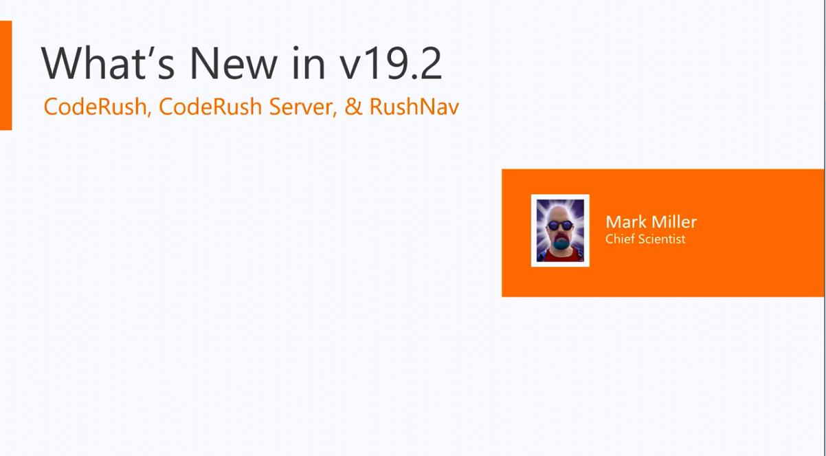 CodeRush v19.2新版功能解析