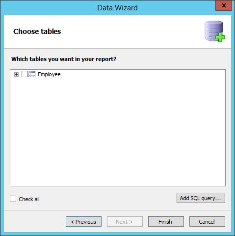 FastReport.Net报表设计器如何连接到VistaDB数据库