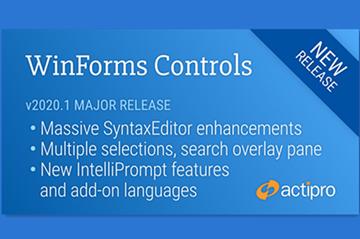 Windows Forms Controls 2020.1