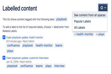 知识管理平台Confluence教程:如何添加,删除和搜索标签?