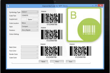 Aspose.Total预览: Aspose.BarCode-6