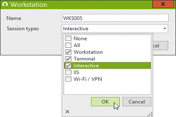 Windows网络守门人UserLock教程:限制用户仅从特定计算机连接