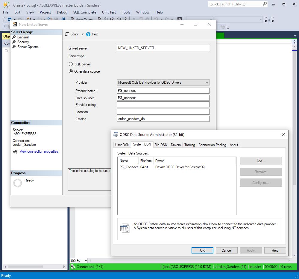 dbForge Studio for SQL Server教程:链接和比较SQL Server和PostgreSQL数据库