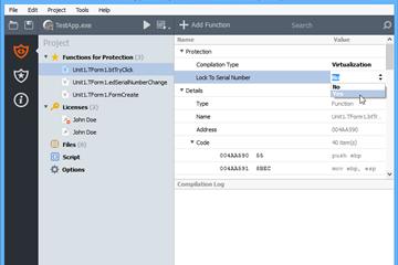 将VMProtect集成到应用程序教程之实模式(四):将代码锁定到序列号上