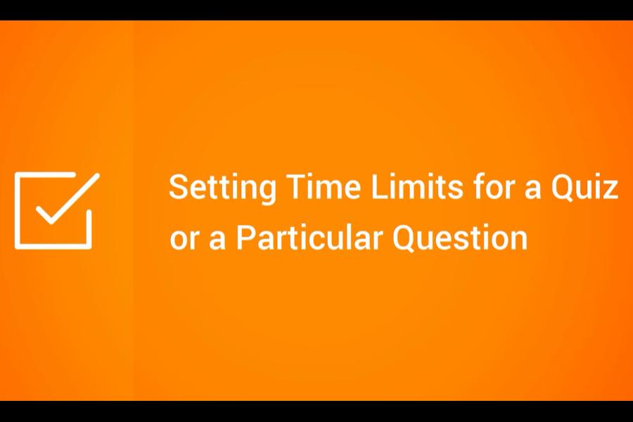 iSpring QuizMaker视频:设置测验或特定问题的时间限制