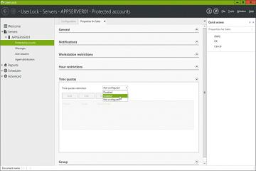 Windows网络守门人UserLock教程:如何分配登陆时间的配额