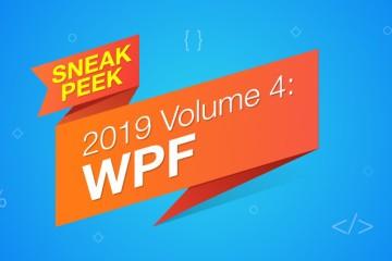 新功能抢先看!Essential Studio for WPF 新版本2019 V4即将发布(上)