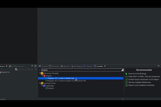 代码补全插件CodeMix教程:创建Angular应用程序
