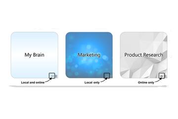 思维导图软件TheBrain基础实操教程:同步Brain的操作方法
