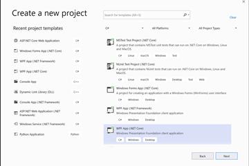 Visual Studio 2019教程:使用C#创建应用程序