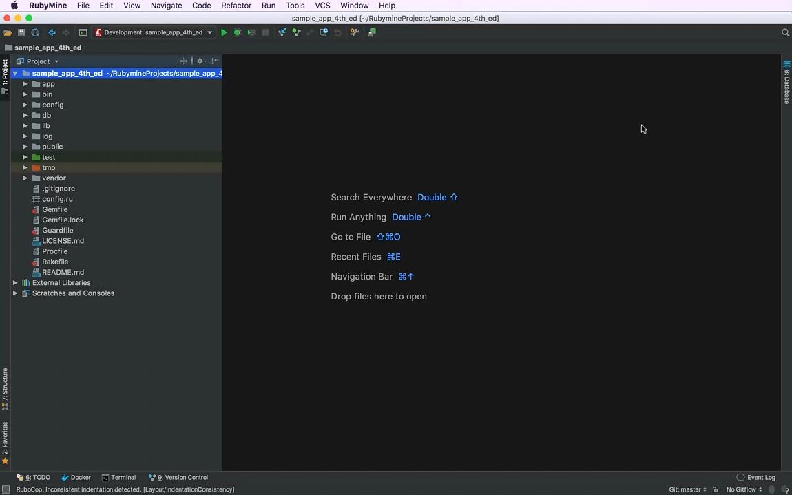 RubyMine视频教程(二):导航能力