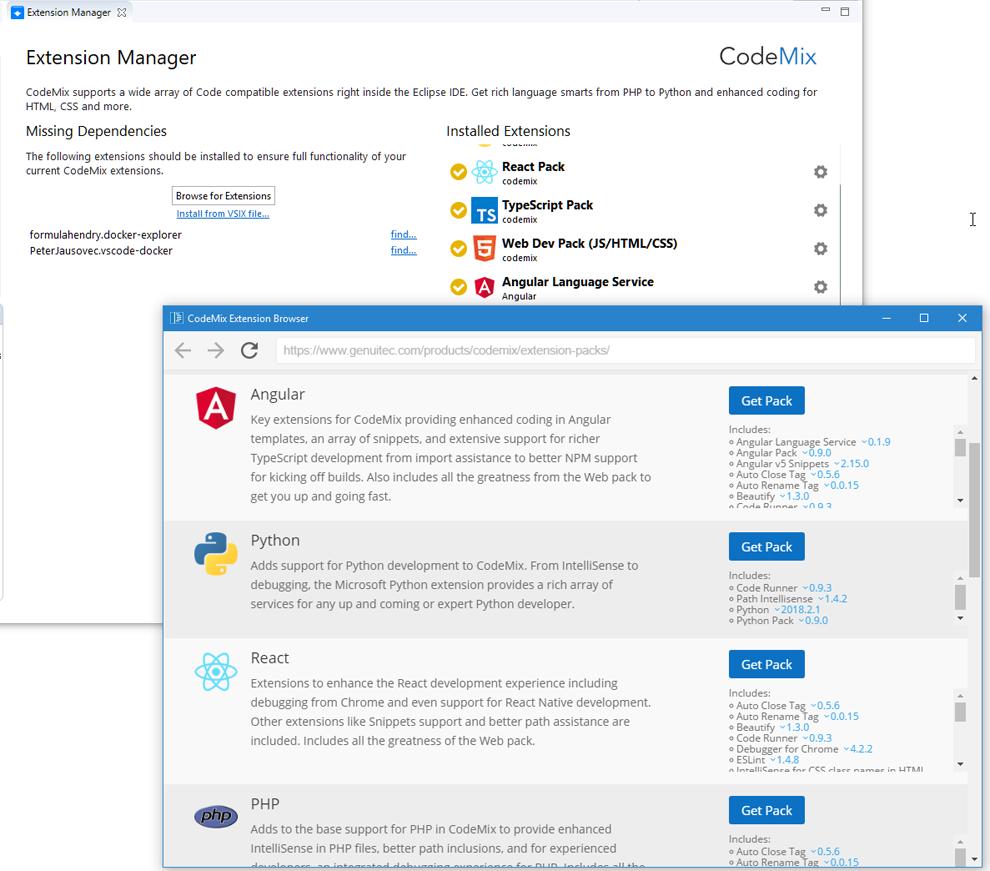 CodeMix预览:CodeMix多语言扩展支持