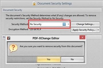 PDF-XChange Editor使用教程:如何管理密码安全性选项?
