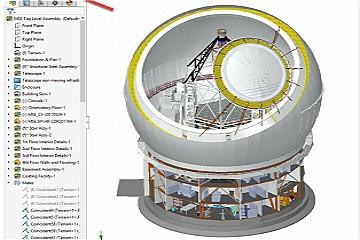 使用SOLIDWORKS Large Design审查模式加快装配速度