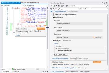 代码审查插件Review Assistant使用教程:如何在Visual Studio 2019中执行代码审查