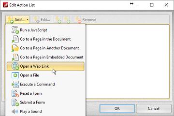 PDF-XChange Editor使用教程:如何添加文字链接?