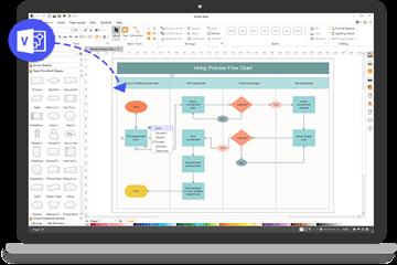 比Microsoft Visio更好的选择!一张表带你了解Edraw Max和Visio的亮点所在