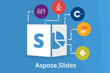 PPT处理控件Aspose.Slides最新功能发布!实现自主的跨平台3D引擎