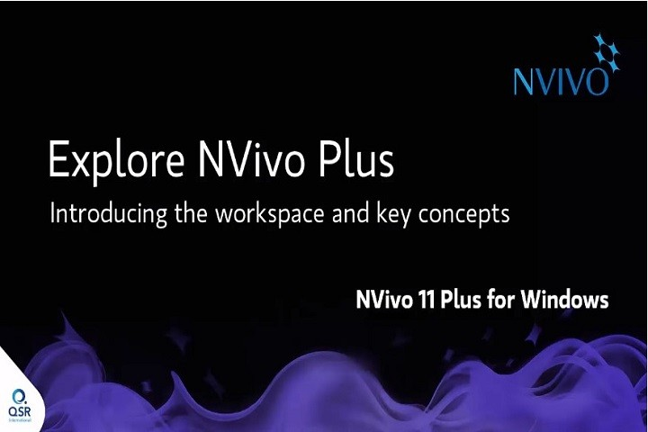 NVivo 11 Windows视频(二):探索NVivo 11 Plus for Windows